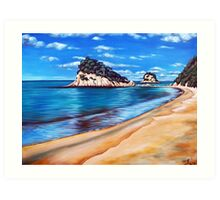 Kaiteriteri Beach New Zealand NZ Art Print