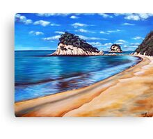 Kaiteriteri Beach New Zealand NZ Canvas Print