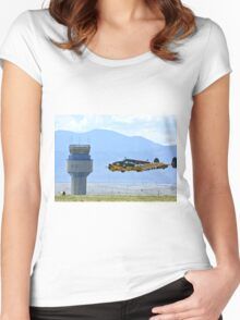 Bucket of Bolts WW2 CAF Bomber Women's Fitted Scoop T-Shirt