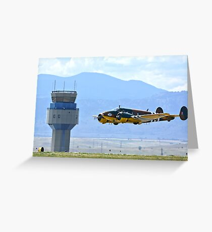 Bucket of Bolts WW2 CAF Bomber Greeting Card