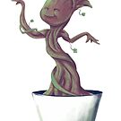Dancing Groot by Denisstiel