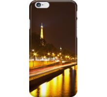 Eiffel Tower overview - panorama iPhone Case/Skin