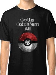 Pokemon Minimalist Nebula Design Classic T-Shirt