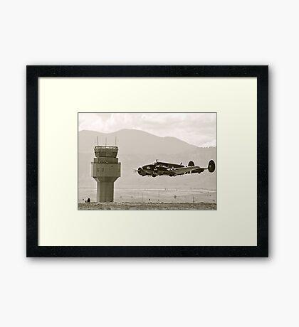 Bucket of Bolts Bomber Aircraft Framed Print