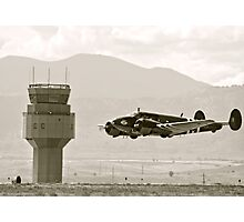 Bucket of Bolts Bomber Aircraft Photographic Print