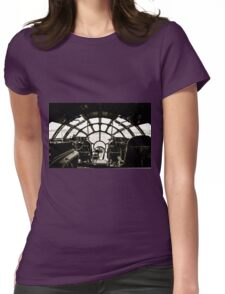 B-29 Bomber Cockpit Womens Fitted T-Shirt