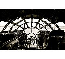 B-29 Bomber Cockpit Photographic Print