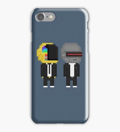 Punk Robot Duo  iPhone Case/Skin