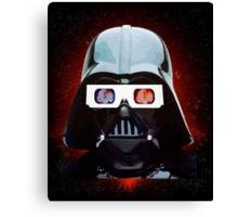 Vader Vision Canvas Print