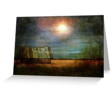 Shack on the corner - now grungy! Greeting Card