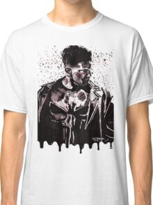 Punisher Ink Splatter Classic T-Shirt