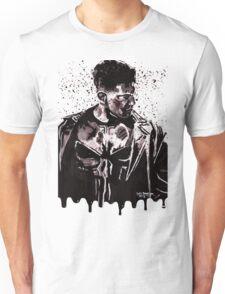 Punisher Ink Splatter Unisex T-Shirt