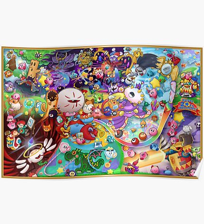 Kirby's 20th Anniversary Poster