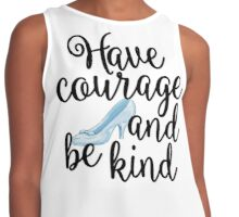 Have Courage and Be Kind Contrast Tank