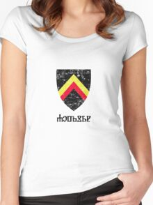 Aedirn Coat of Arms - Witcher Women's Fitted Scoop T-Shirt