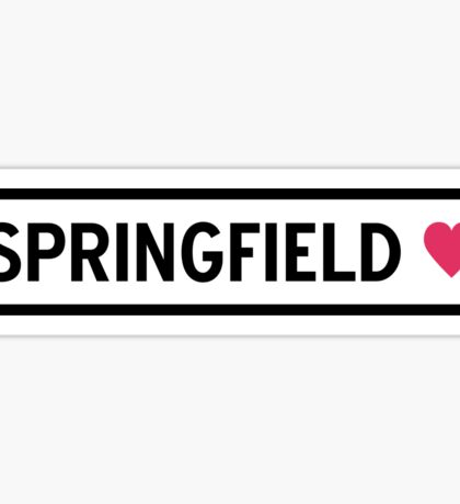 Springfield Sticker