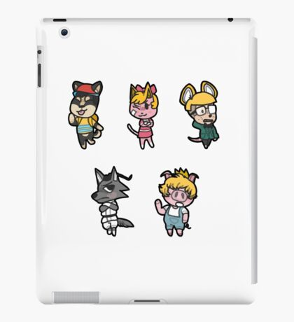 Animal Crossing / Earthbound Crossover iPad Case/Skin