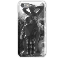 The French Statue iPhone Case/Skin