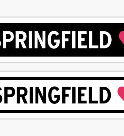 Springfield Sticker