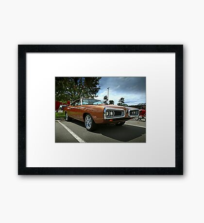 1970 Dodge Coronet Super Bee Framed Print