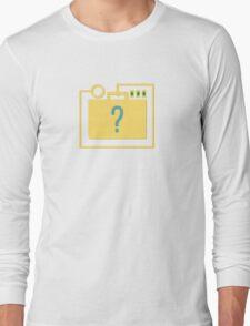 Brainstorm's Briefcase Long Sleeve T-Shirt