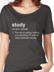 Funny Study Definition Women's Relaxed Fit T-Shirt