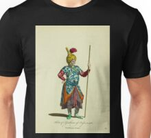 Habit of a gentleman of Persia in 1568 Gentilhomme Persan 114 Unisex T-Shirt