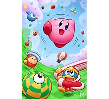 Kirby Tilt 'n' Tumble Photographic Print