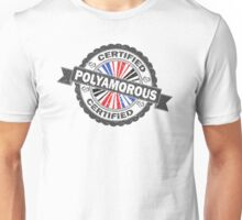 Certified Polyamory Stamp Unisex T-Shirt
