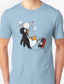 Penguin Baseball  Unisex T-Shirt