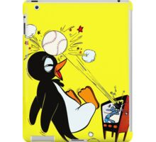 Penguin Baseball  iPad Case/Skin