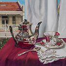 Morning tea, Paddington by Freda Surgenor
