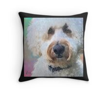 """""""Beau in Pastels"""" Throw Pillow"""