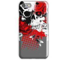 Skull Trash Polka T Shirt iPhone Case/Skin