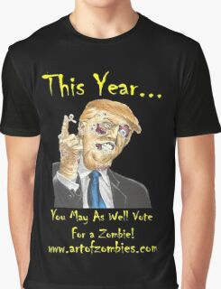 The Zombie Donald Trump- New Edition  Graphic T-Shirt