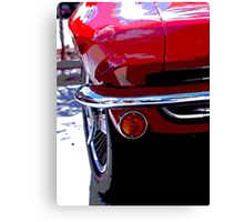 Classic Muscle Car Canvas Print