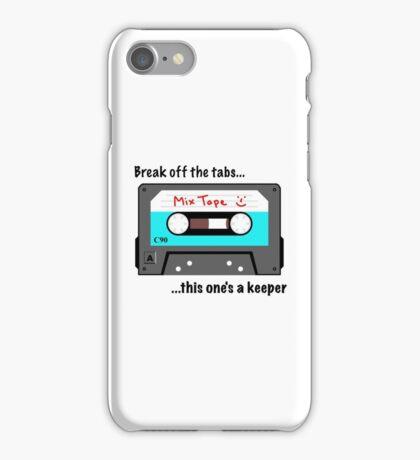 Break off the tabs iPhone Case/Skin