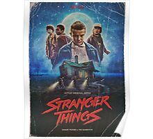 Stranger things Poster