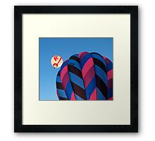 Balloons Up Framed Print