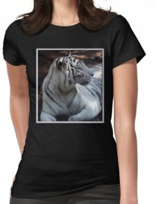Relaxing In The Shade Womens Fitted T-Shirt
