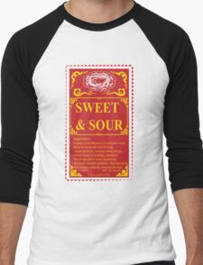 SWEET AND SOUR  Men's Baseball ¾ T-Shirt
