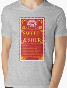 SWEET AND SOUR  Mens V-Neck T-Shirt