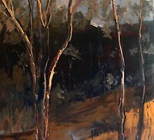 Sugarloaf Creek Broadford Vic Aust (oil) by Margaret Morgan (Watkins)