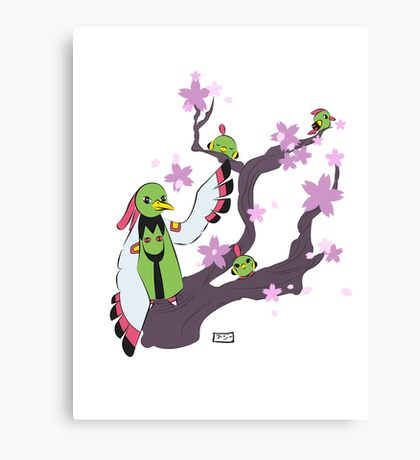Xatu tree Canvas Print