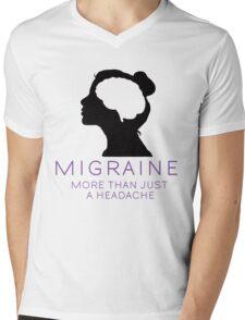 Migraine Awareness- More Than Just A Headache Mens V-Neck T-Shirt