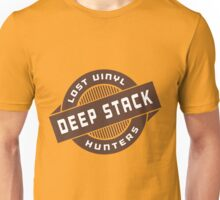 DEEP STACK LOST VINYL HUNTERS Unisex T-Shirt