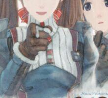 I want YOU for Gallian Militia Sticker