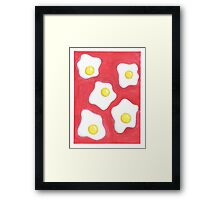 Fried Eggs Framed Print