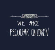 Peculiar Children  Baby Tee