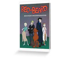 Red Beard Mystery Inc Greeting Card